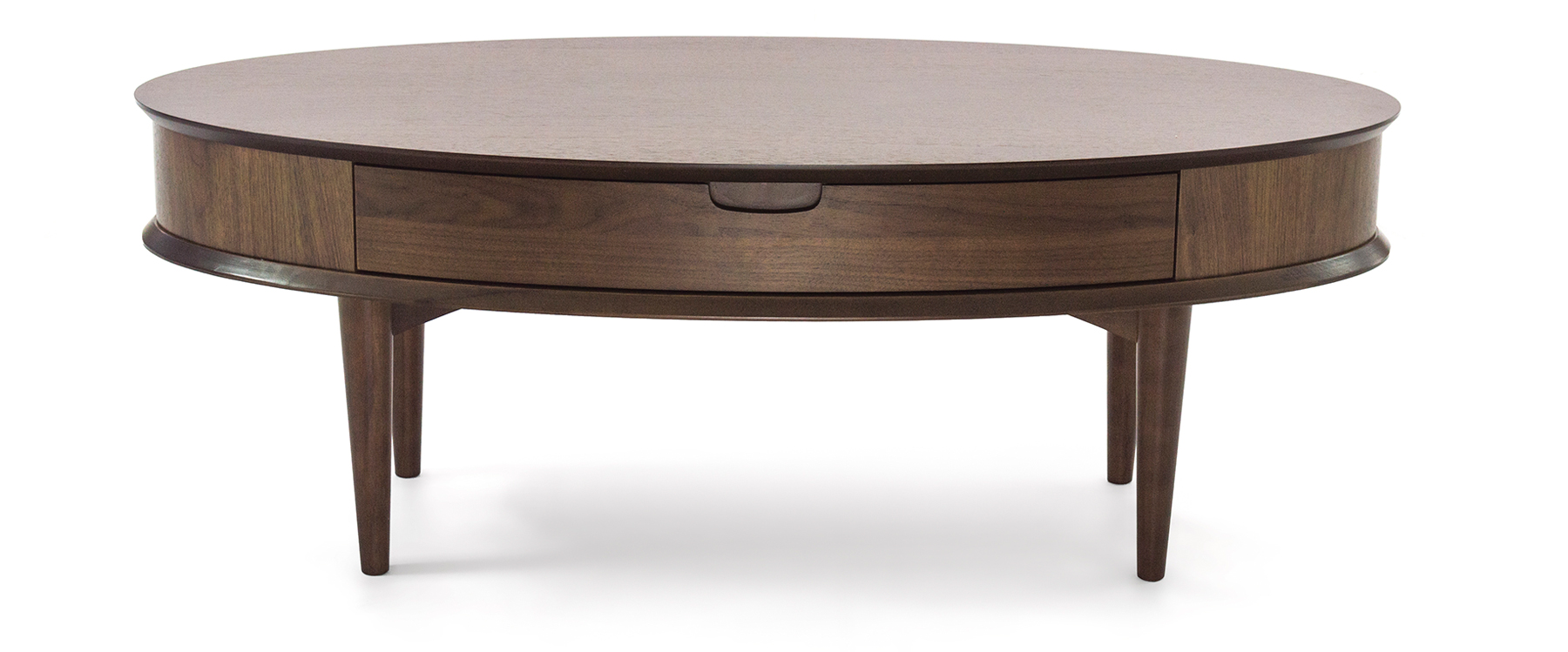 Oslo Walnut Coffee Table With Drawer Ez Living Furniture Dublin