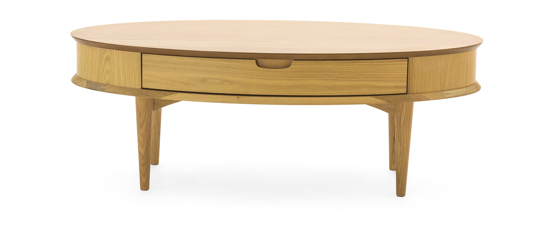 Swell Oslo Oak Coffee Table With Drawer Theyellowbook Wood Chair Design Ideas Theyellowbookinfo