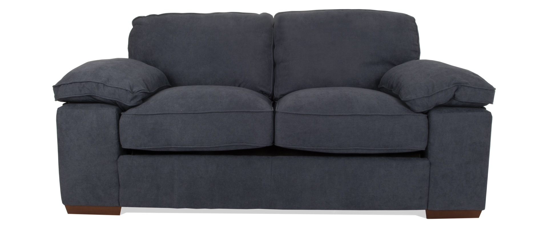 Cassie 2 Seater Sofabed In Navy Fabric
