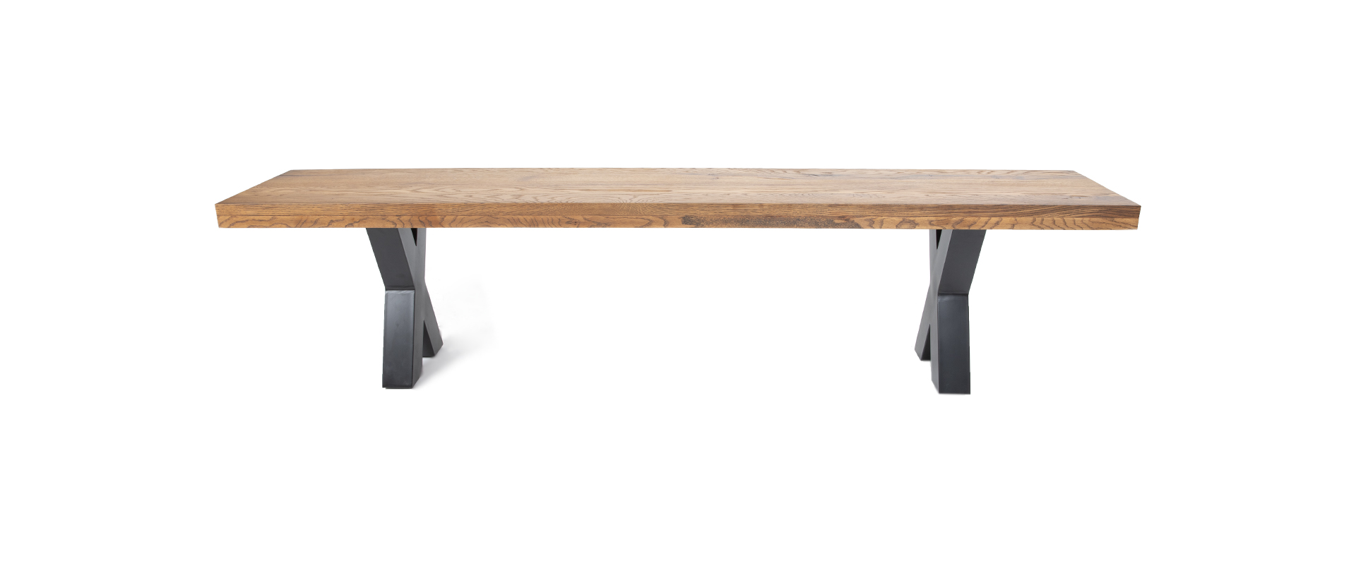 Strange Stockton X Leg Bench 2M Machost Co Dining Chair Design Ideas Machostcouk