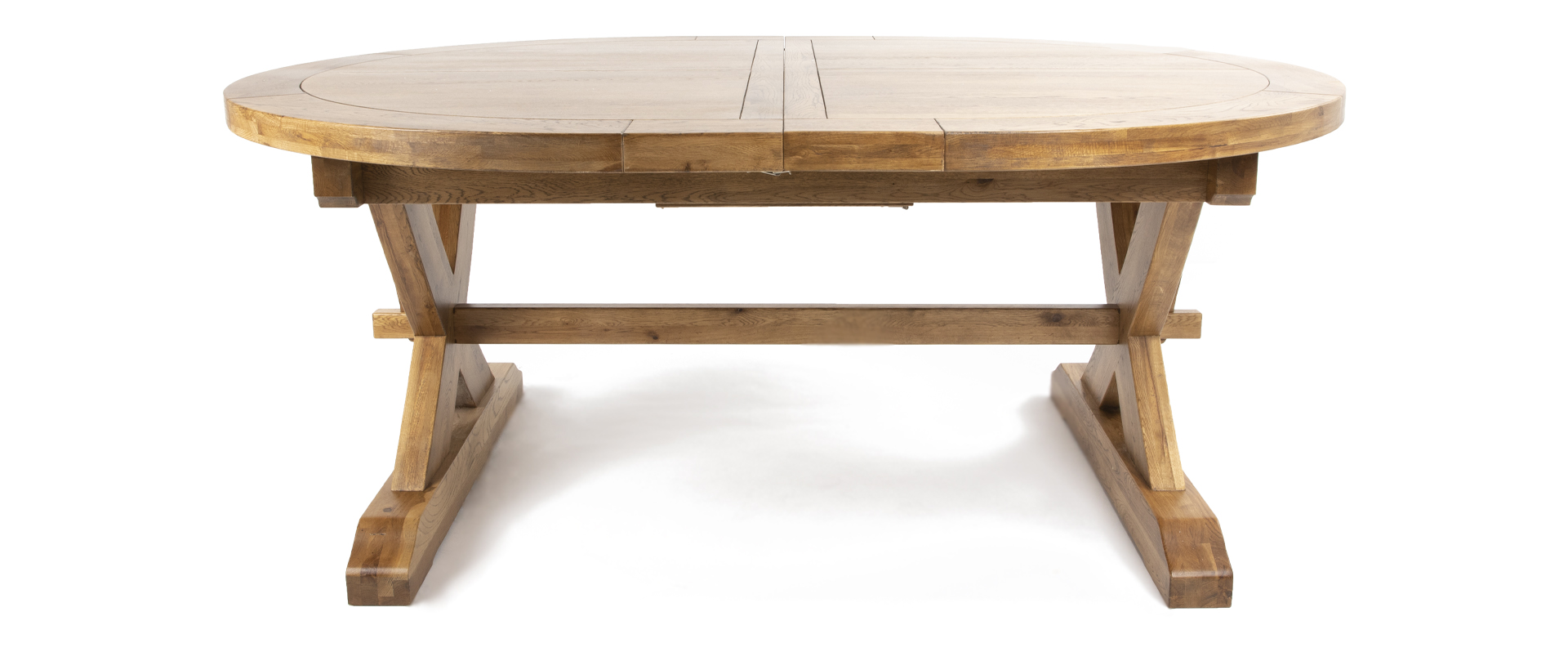 Athens Extending Oval Dining Table