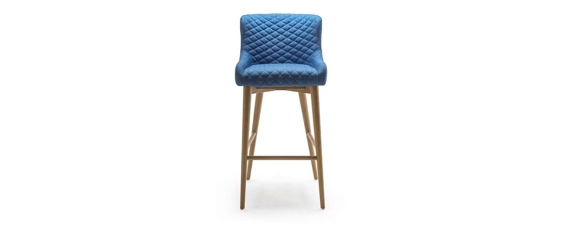 Chelsea bar stool in cobalt
