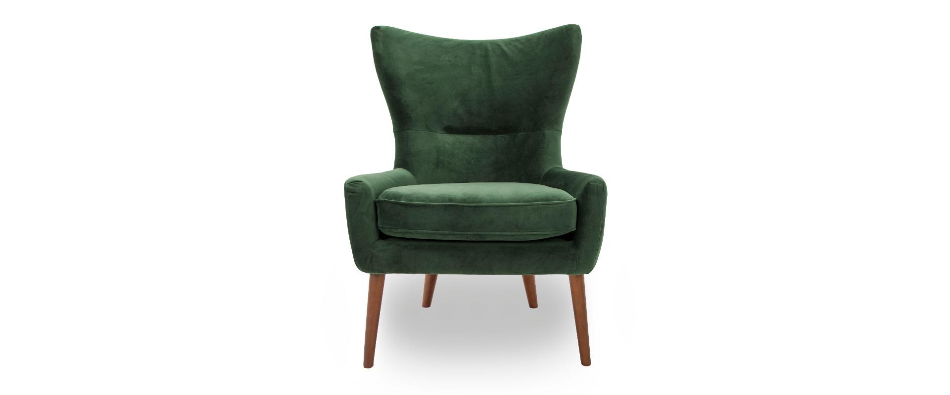 Godwin Green Velvet Accent Chair
