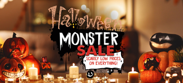 Halloween Monster Sale