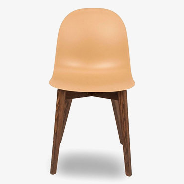 Academy Nougat Dining Chair with Smoke Legs