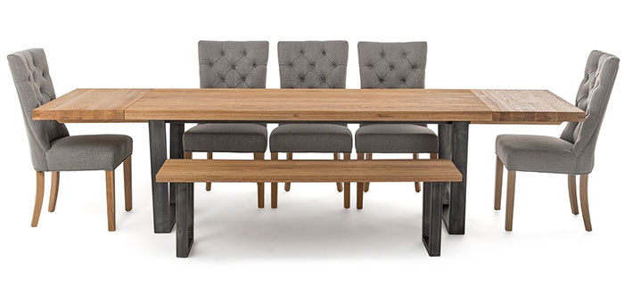 4 Seaters Benches Dining Tables