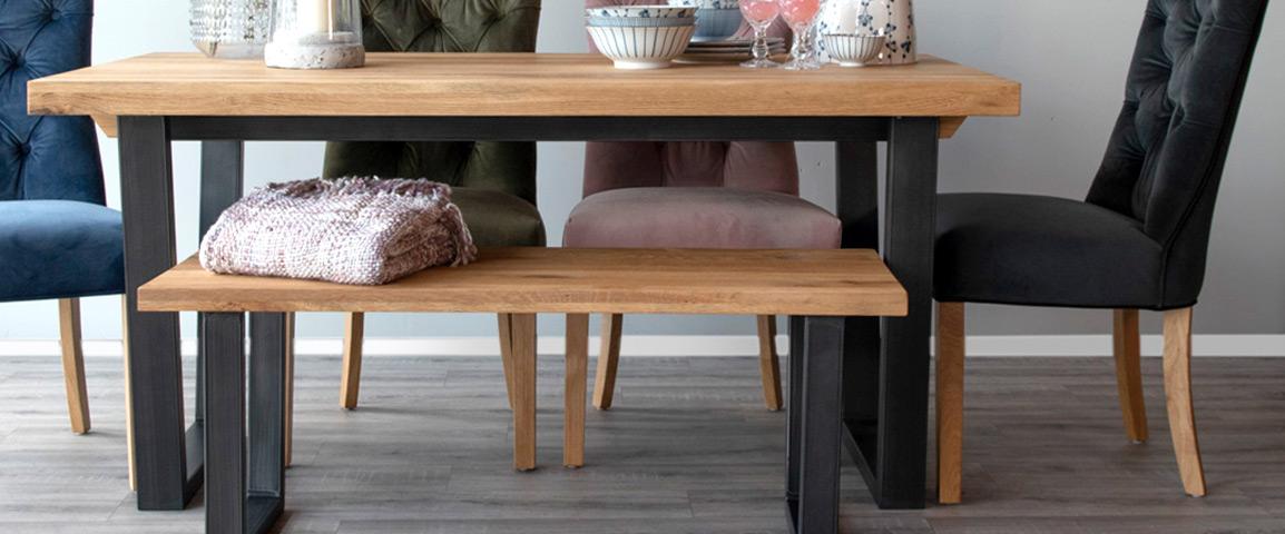 Tremendous Wooden Dining Benches Kitchen Bench Seating Ez Living Machost Co Dining Chair Design Ideas Machostcouk