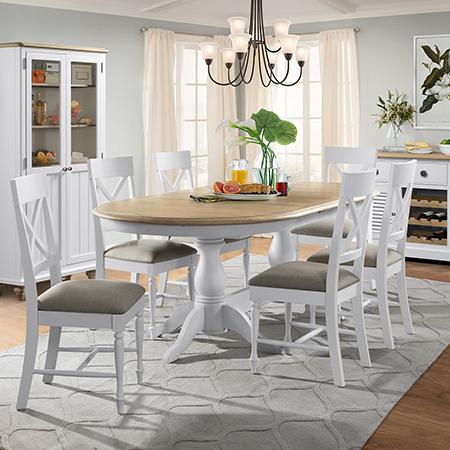 Charlotte Oval Dining Set