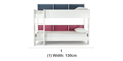 Leo Bunk Bed Assembly Not Included