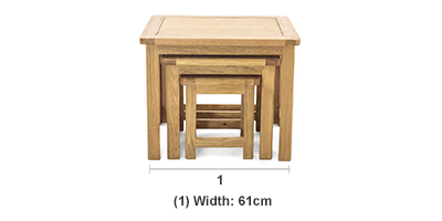 Admirable Canterbury Nest Of Tables Andrewgaddart Wooden Chair Designs For Living Room Andrewgaddartcom
