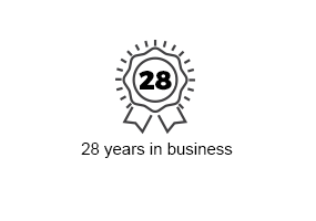 28 Years in Business