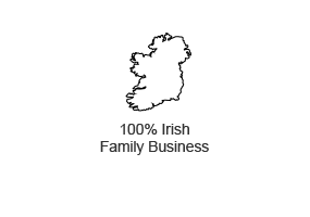 100% Irish Family Business
